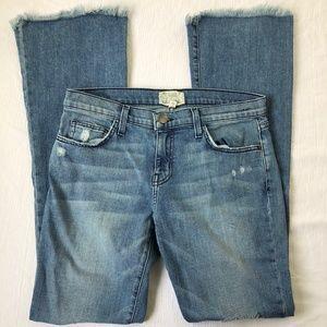 [Current/Elliott] The Flip Flop Raw Hem Jeans